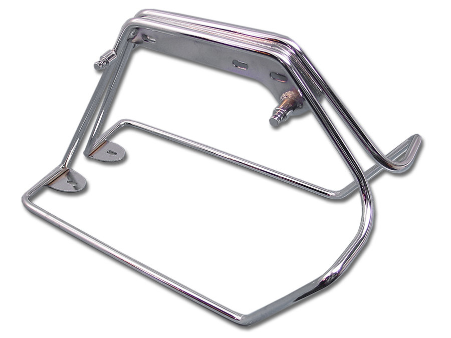 Chrome Saddlebag Mount Bracket Set