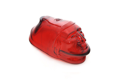 Indian Front Fender Lamp Lens Red