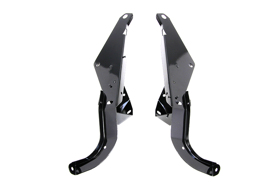 Heavy Duty Outer Fairing Support Bracket Set Black