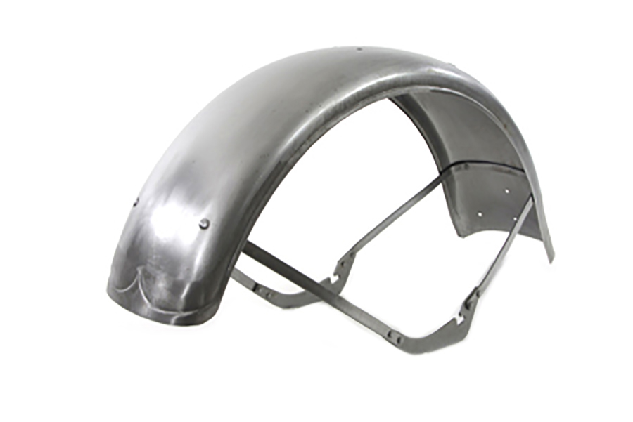 Big Twin Spring Fork Front Fender Raw
