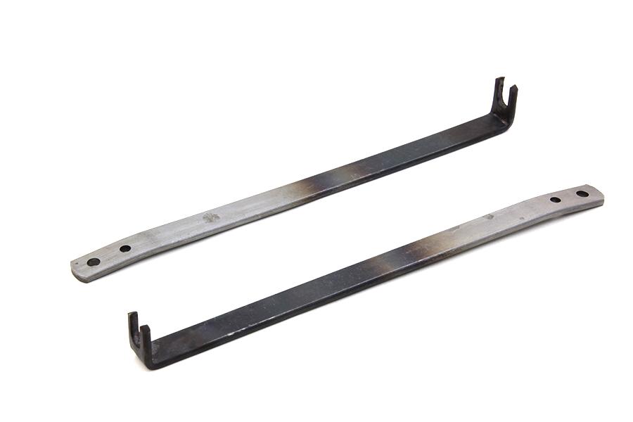Rear Fender Mount Brace Strap Raw