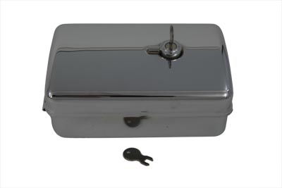 Rectangular Chrome Tool Box
