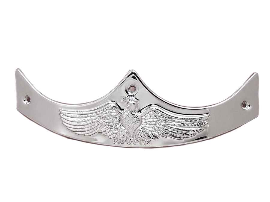 Chrome Eagle Style Fender Tip