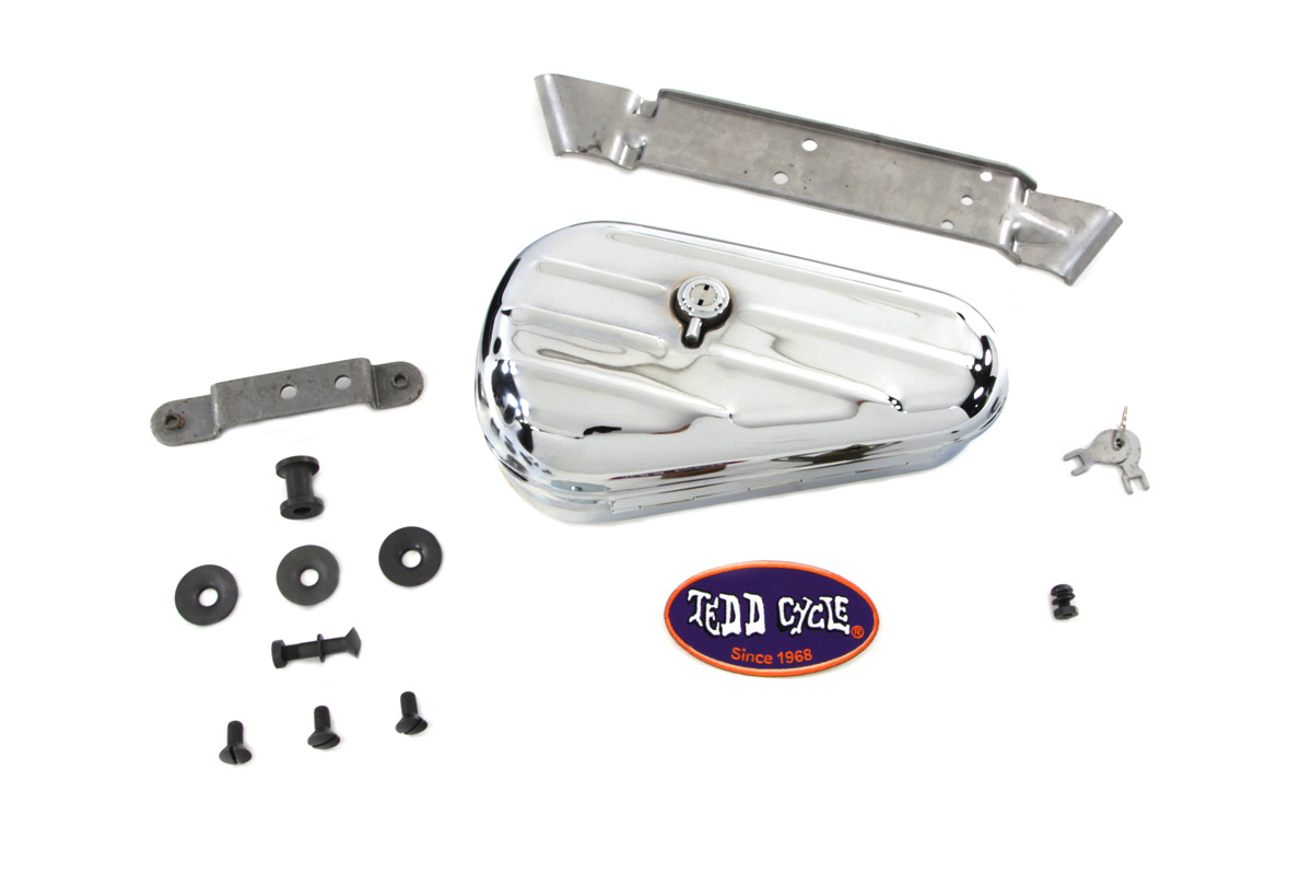 Chrome Rigid Tool Box Kit