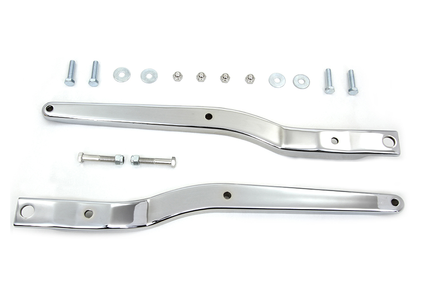 Replica Rear Fender Strut Set Chrome