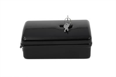 Rectangular Black Tool Box