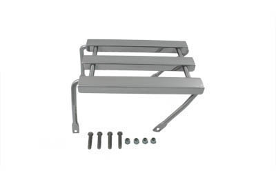 Wyatt Gatling Chrome Three Channel Luggage Rack