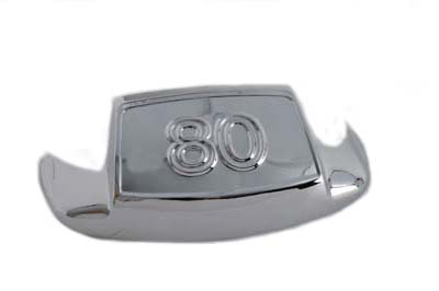 "Chrome Front Fender Tip ""80"""
