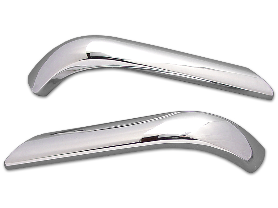 Rear Fender Trim Stripe Set Chrome