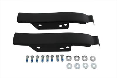 Saddlebag Rear Filler Strip Set Black