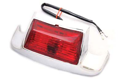 Rear Fender Tip with Bulb Type Lamp