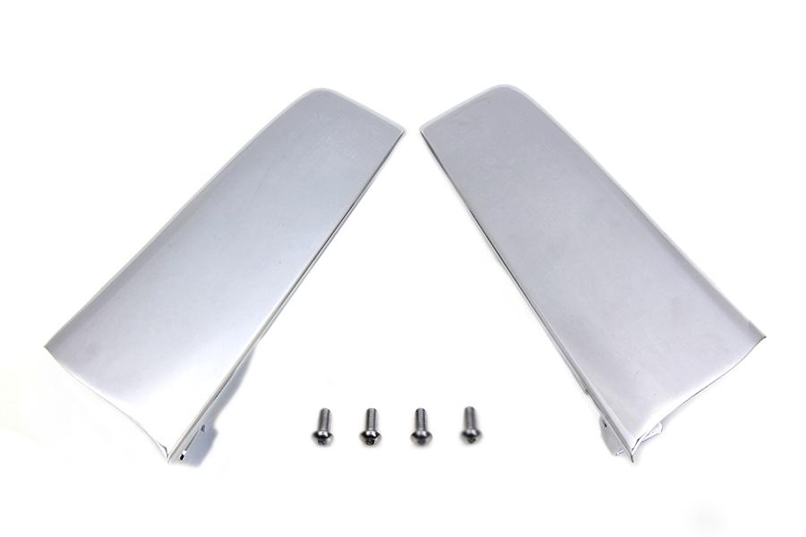 Chrome Saddlebag Filler Strip Kit
