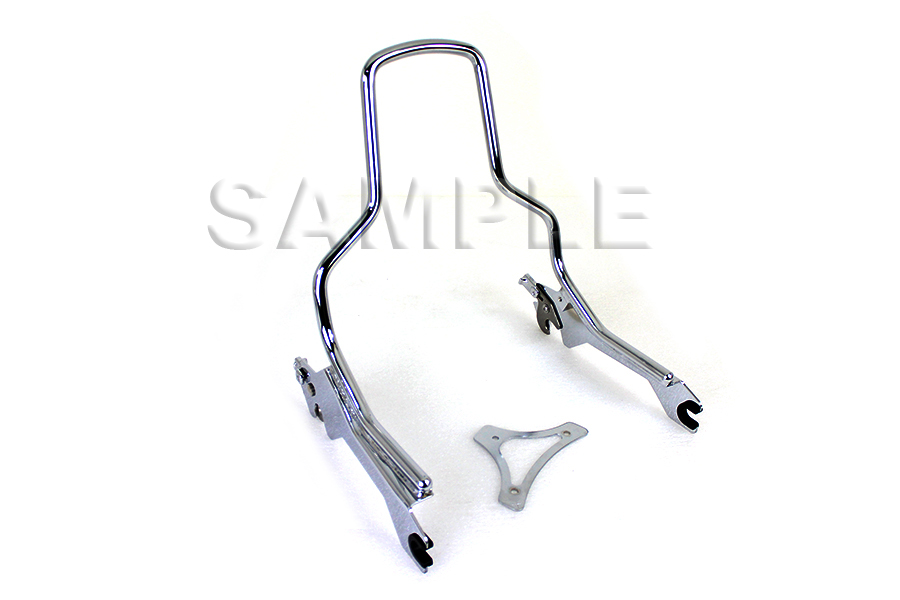"14-1/2"" Standard Detachable Sissy Bar Chrome"