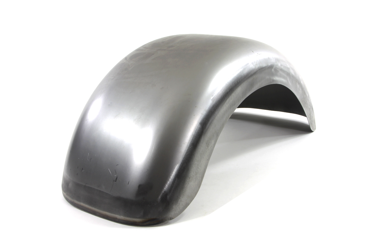 Rear Fender Raw Steel