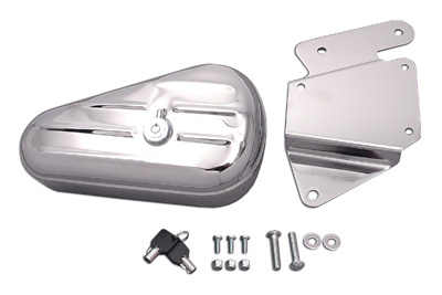 *UPDATE Oval Tool Box and Mount Kit Right Side Chrome