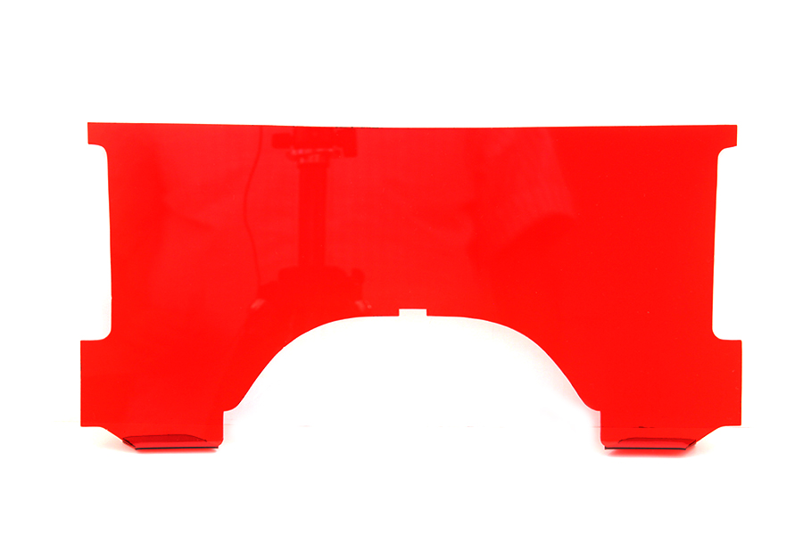 Adjustable Windshield Red Lower