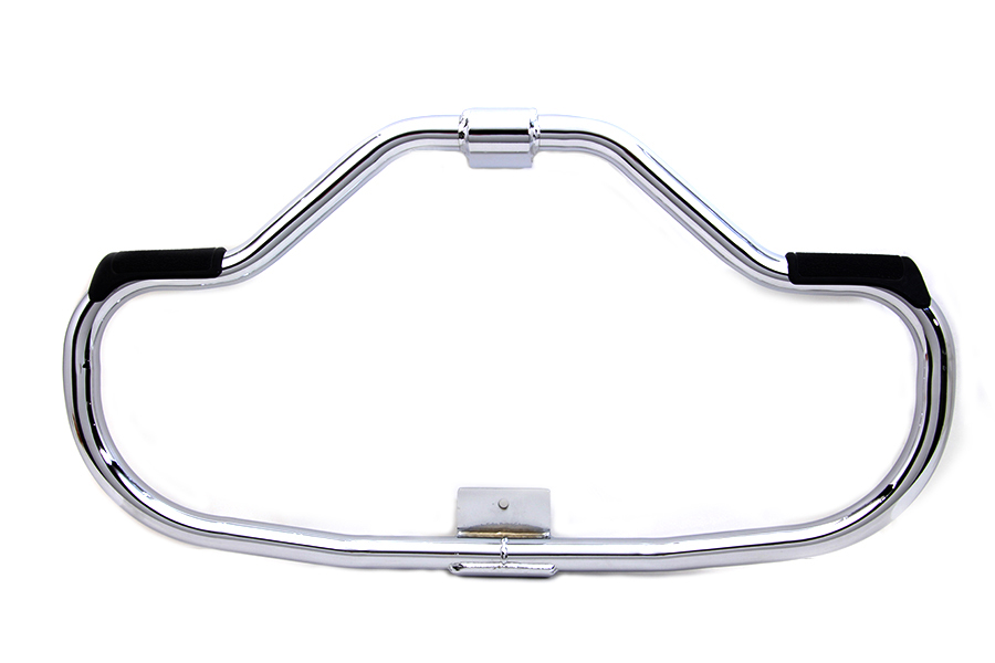 Chrome Front Engine Bar with Footpeg Pads