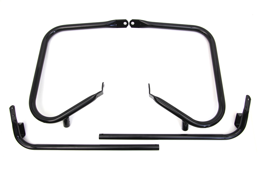 Black Rear Engine Bar Set