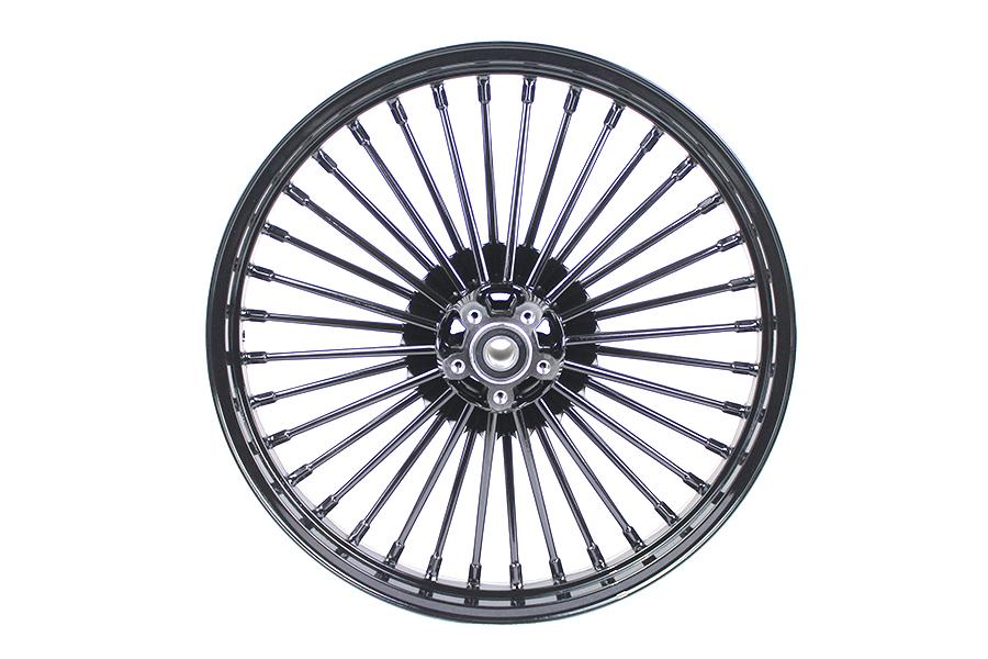 """21"""" Front Spoke Wheel Black"""