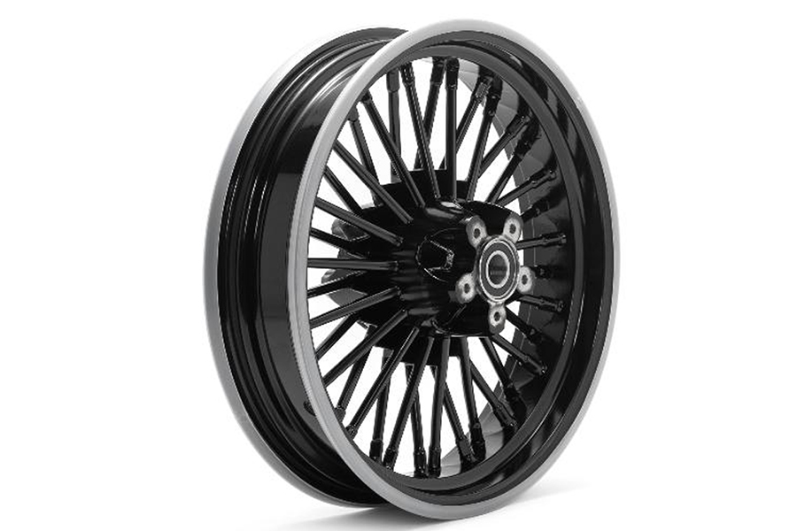 "Rear 16"" x 3.5"" x 36 Bespoke Wheel Black"