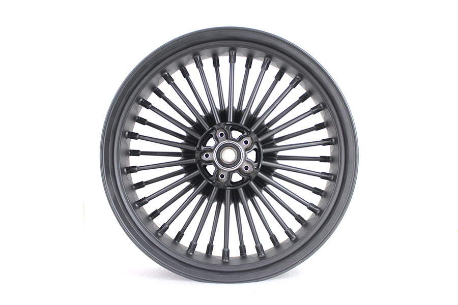 "*UPDATE 18"" x 5.5"" x 36 Spoke Uni-Wheel Matte Black"
