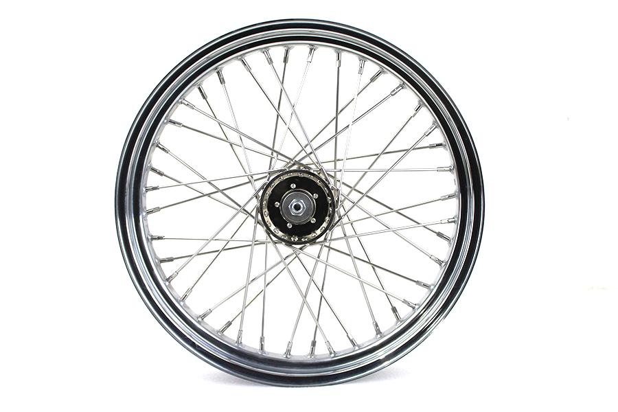 "19"" x 3.00"" Flat Track Wheel"