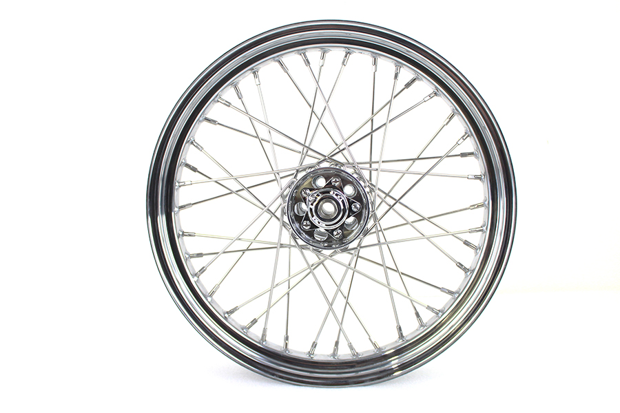 "19"" x 3.00"" Front or Rear Flat Track Wheel"