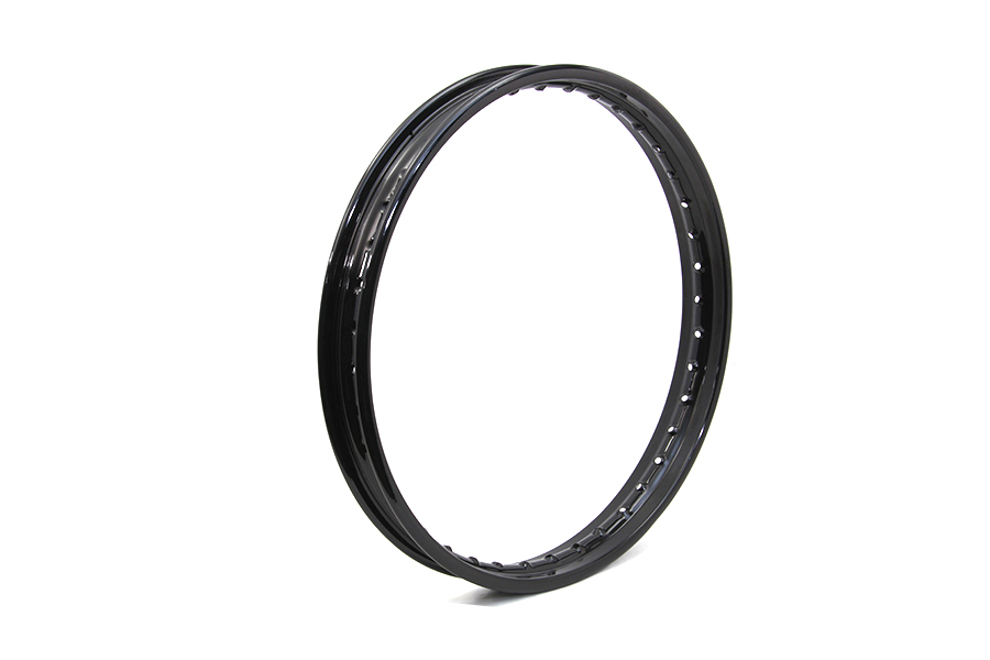 "21"" x 2.15"" Rolled Edge Rim Black"