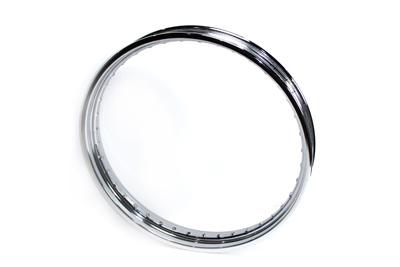 "21"" X 2.15"" Rolled Edge Chrome Wheel Rim"