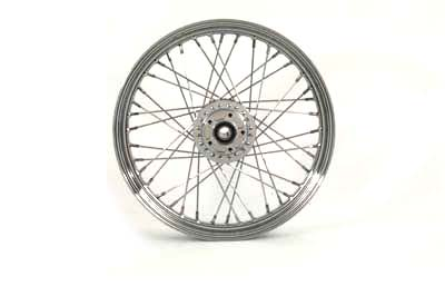 "Front Spoked 19"" Wheel"