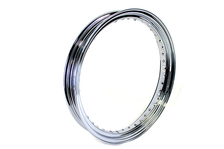 "19"" x 3.00"" Drop Center Steel Rim Chrome"