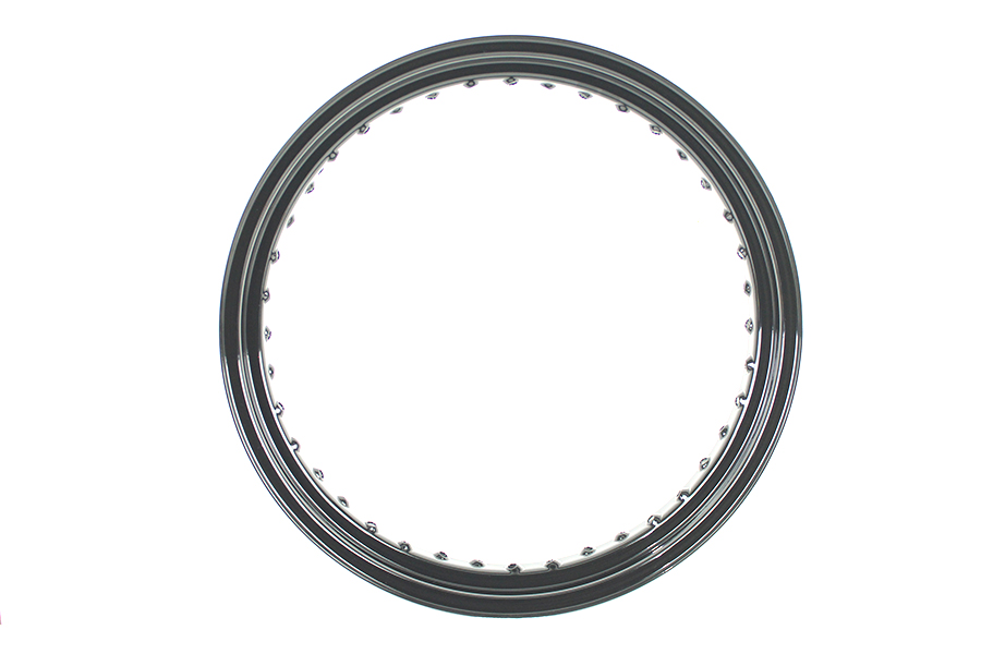 "19"" x 3.0"" Drop Center Steel Rim Black"