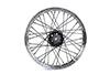 "18"" x 2.5 Replica F-H Trog Style Star Hub Wheel"