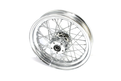 "16"" Replica Front Spoke Wheel Chrome"