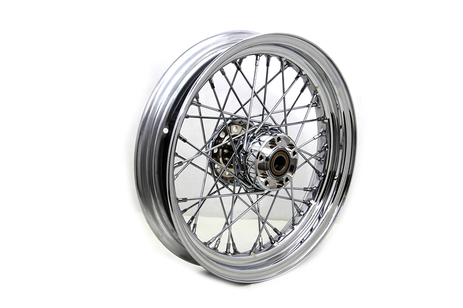 "16"" Front Spoke Wheel Chrome"