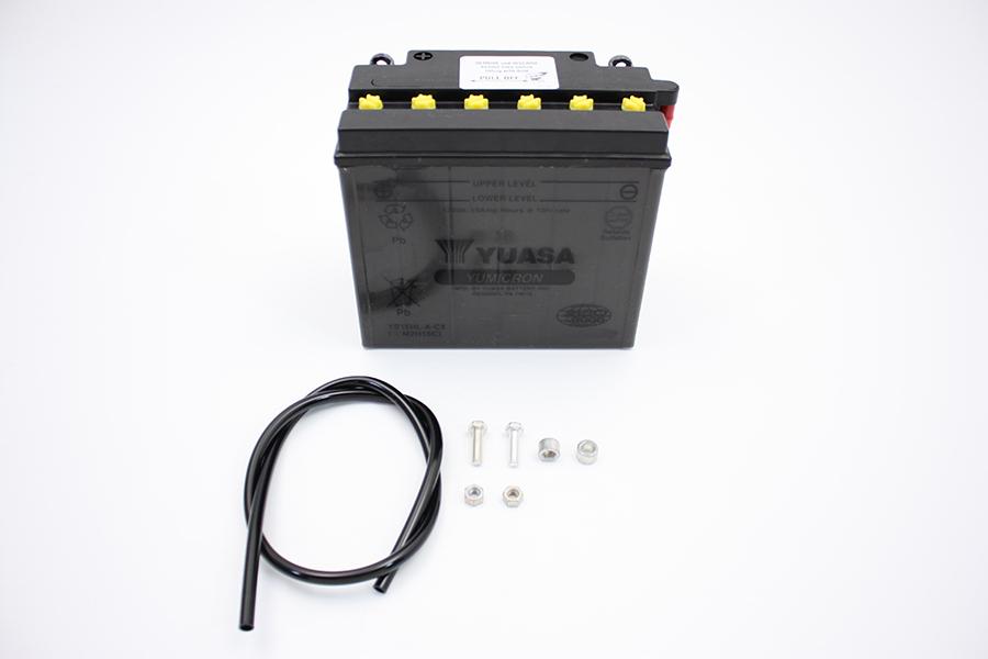 Yuasa YuMicron CX Battery 12 Volts