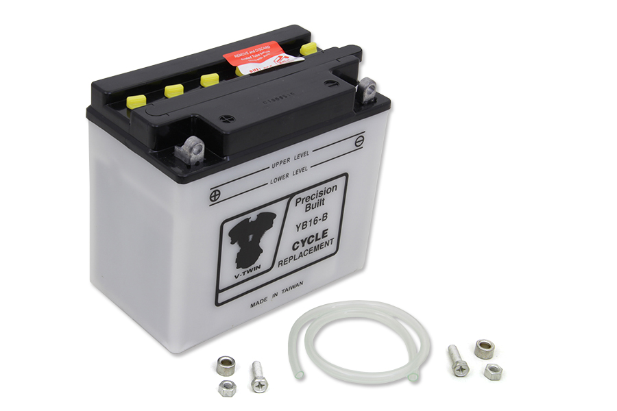 12 Volt Battery Dry