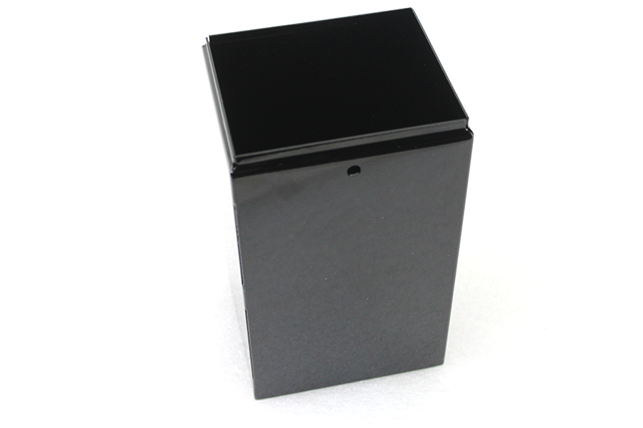 H-2 Steel Battery Box Black