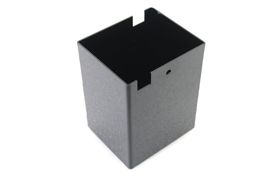 Steel Black Battery Box