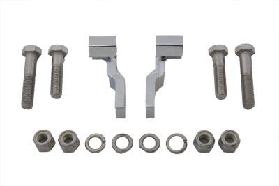Rear Shock Lowering Kit Chrome