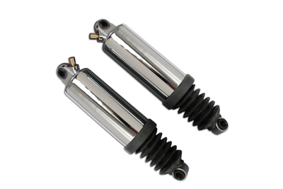 AEE Chrome Low Motorcycle Rear Air Shock Set 97-08 Harley Touring FLHR FLHT FLT