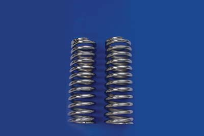 "Chrome 13-1/2"" Shock Spring Set"
