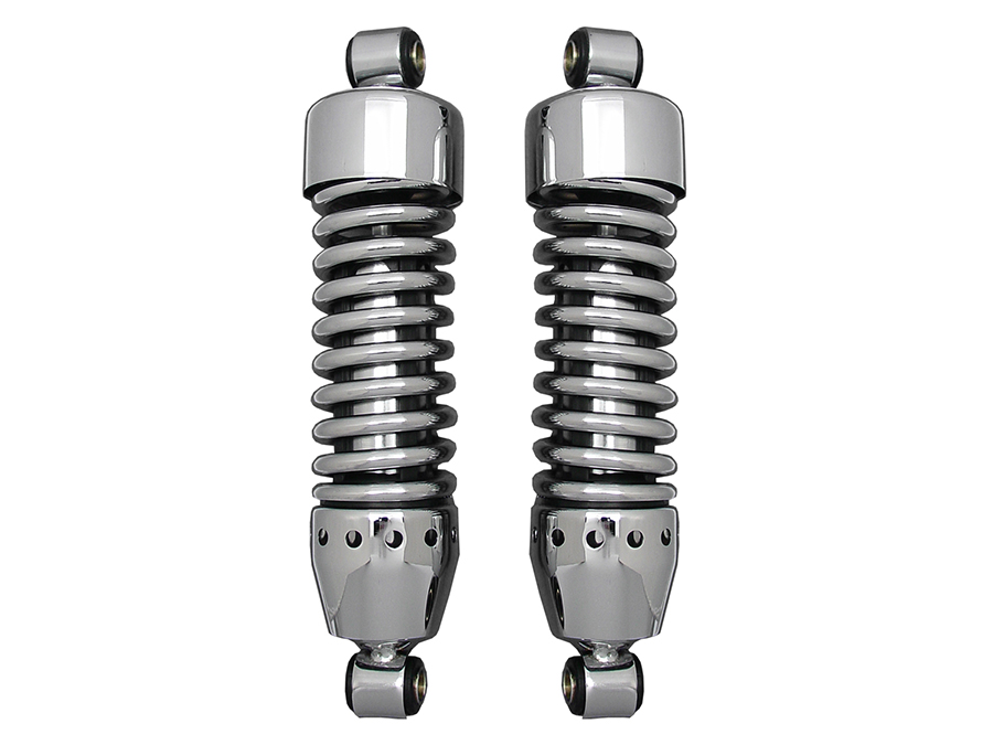 "AEE 11-1/2"" Shock Set Chrome"