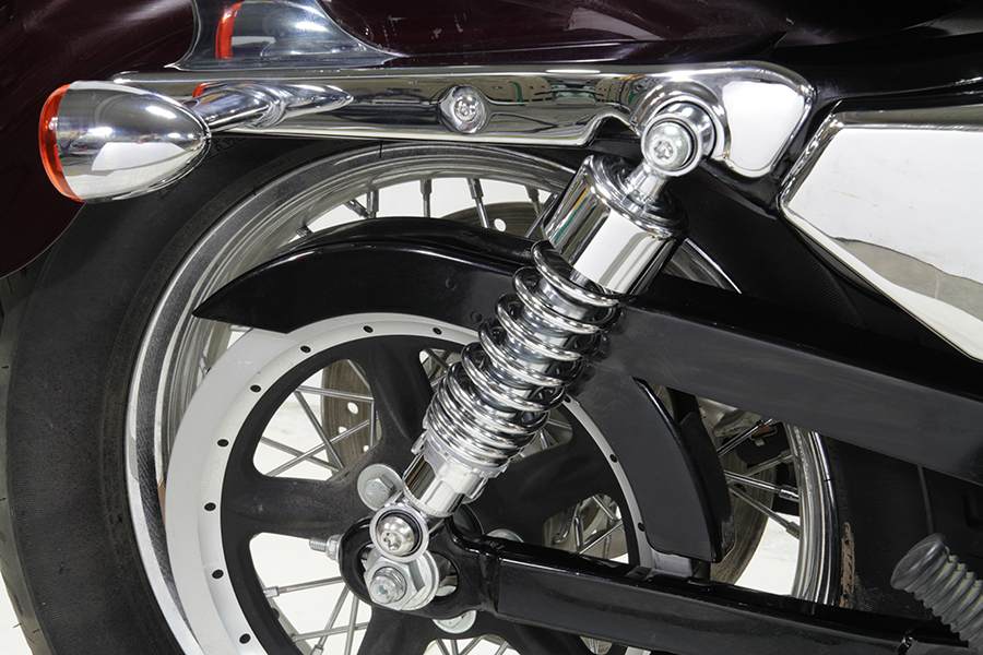 "2-1/4"" Lower Shock Set Chrome"