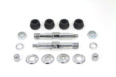 Chrome Upper Rear Shock Stud Kit