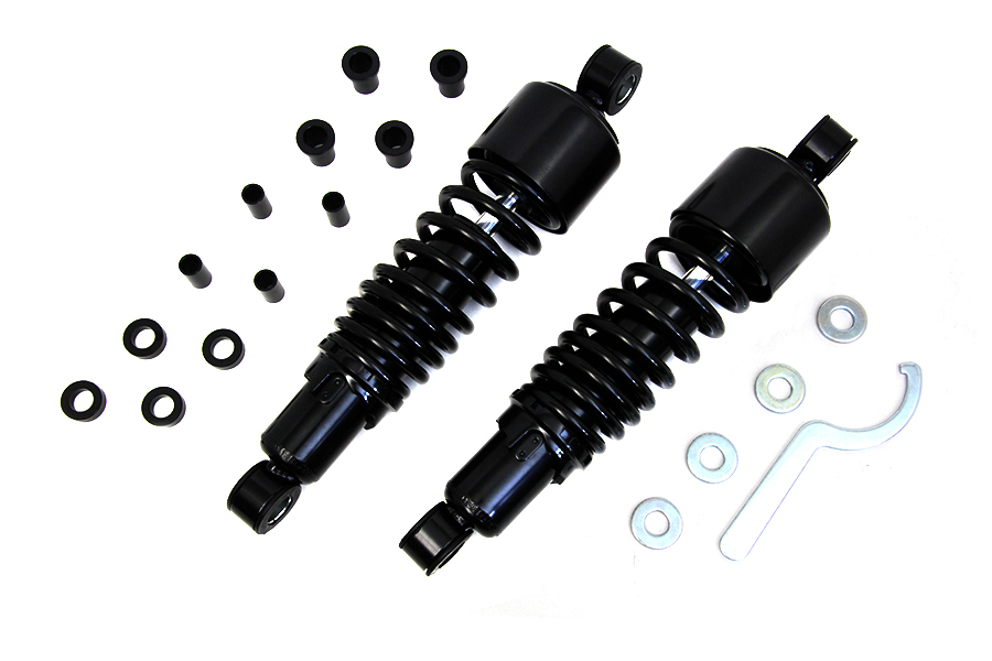 "11-1/2"" FLT Shock Set Black"