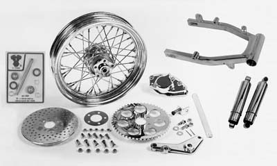 Swingarm and Brake Assembly Kit