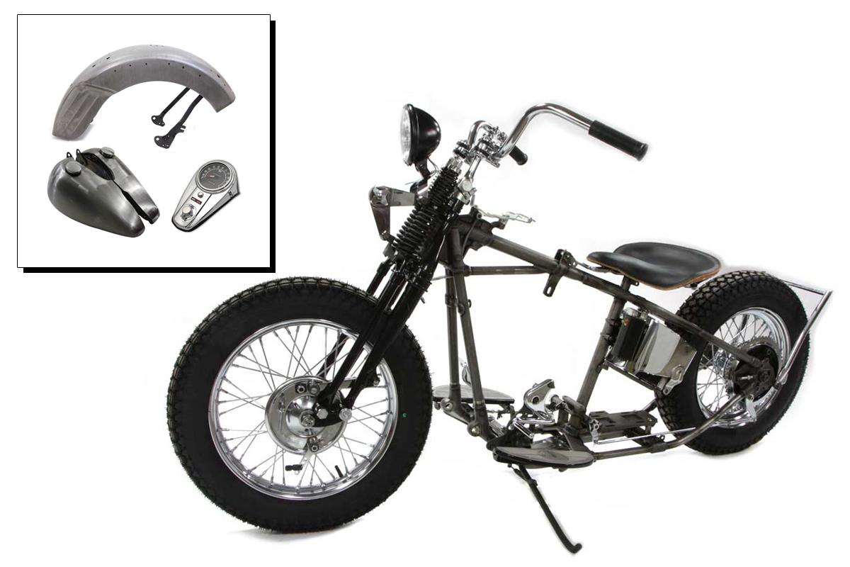 Replica Shovelhead/Panhead Bobber Chassis Kit