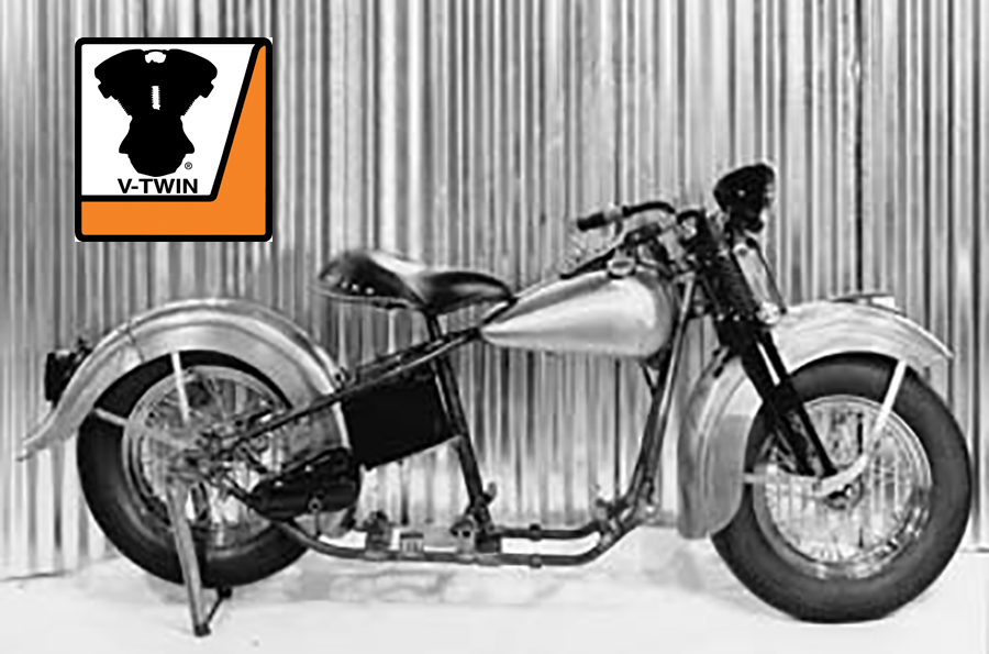Replica 1948 Panhead Rolling Chassis Kit