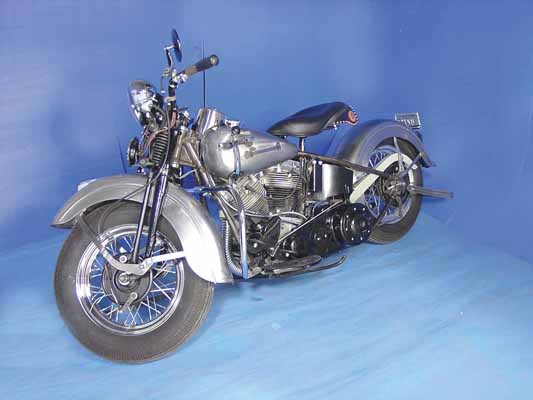 Replica 1948 Panhead Bike Kit Restoration Finish